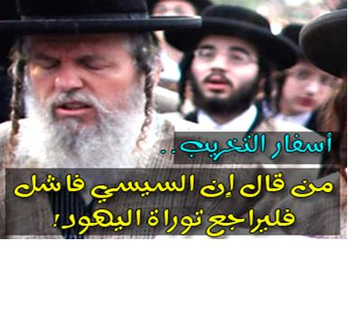 Article On Muslim Brotherhood Party Website: Al-Sisi Destroying Egypt In Accordance With Jewish Bible