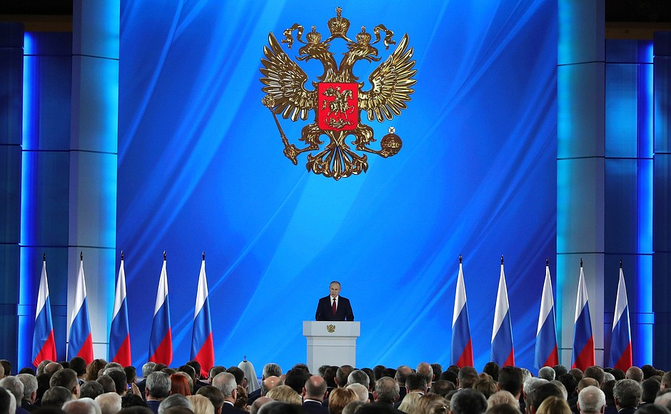 Russia This Week  – Focus On Putin's State-Of-The-Nation Address And Russia's Bilateral Relations – January 16, 2020