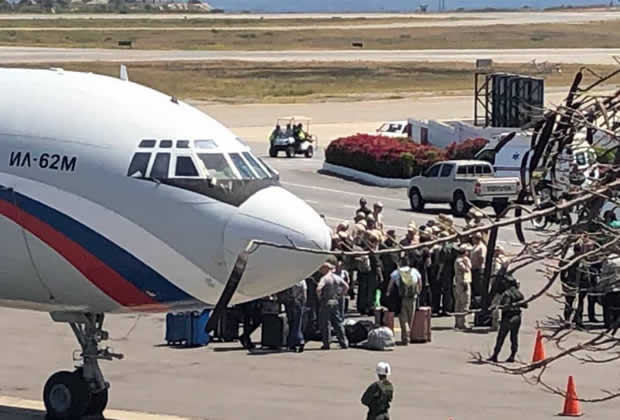 Influential Blogger El-Murid: The Two Russian Military Planes That Landed In Venezuela Show That Russia Wants To Transform A Civil Conflict Into An International Military Confrontation