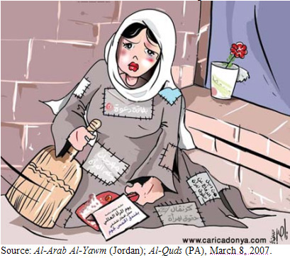 International Women's Day – Cartoons in Arab Press Criticize Women's Status in Arab World