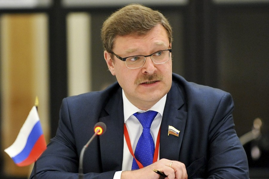 Russian Senator Kosachev: The Choice Of The Crimean People Is Irreversible