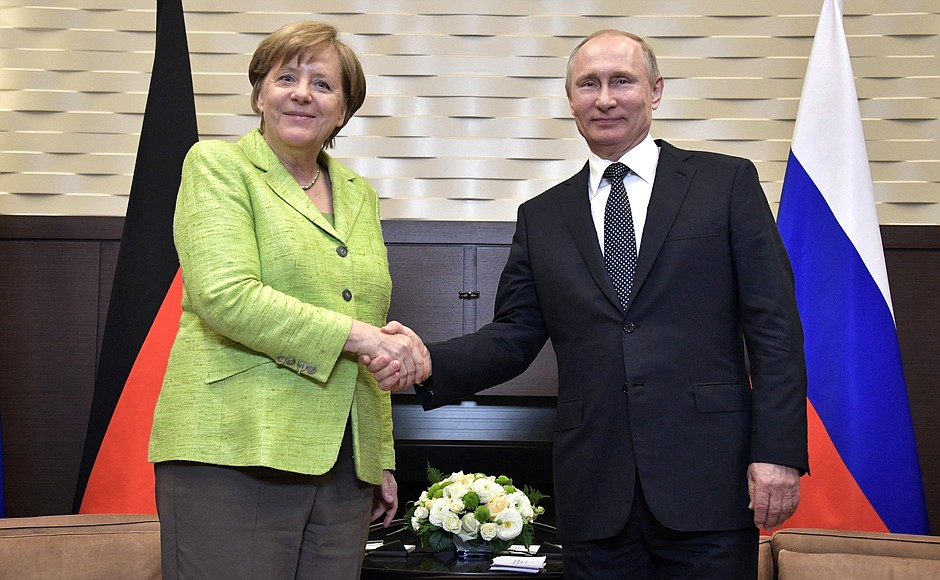 Reactions To Merkel's Visit To Russia