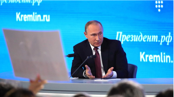 Putin At The Annual News Conference: 'The Most Important Thing Is The Information That The Hackers Revealed To The Public. Did They Compile Or Manipulate The Data? No, They Did Not'