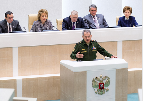 Russian Defense Minister Shoigu: 99% Of Strategic Missile Forces Launch Systems Are In Combat Readiness