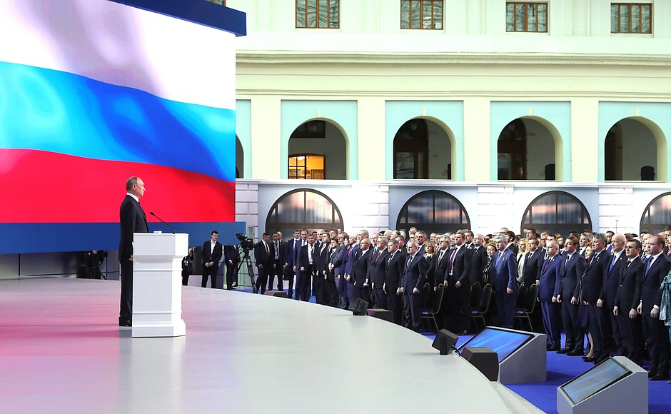 Putin's Address To Russia's Federation Council: Russia Will Target The US If The Americans Deploy Medium And Short Range Missiles In Europe