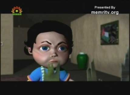 The Child and the Invader - An Iranian Cartoon Series