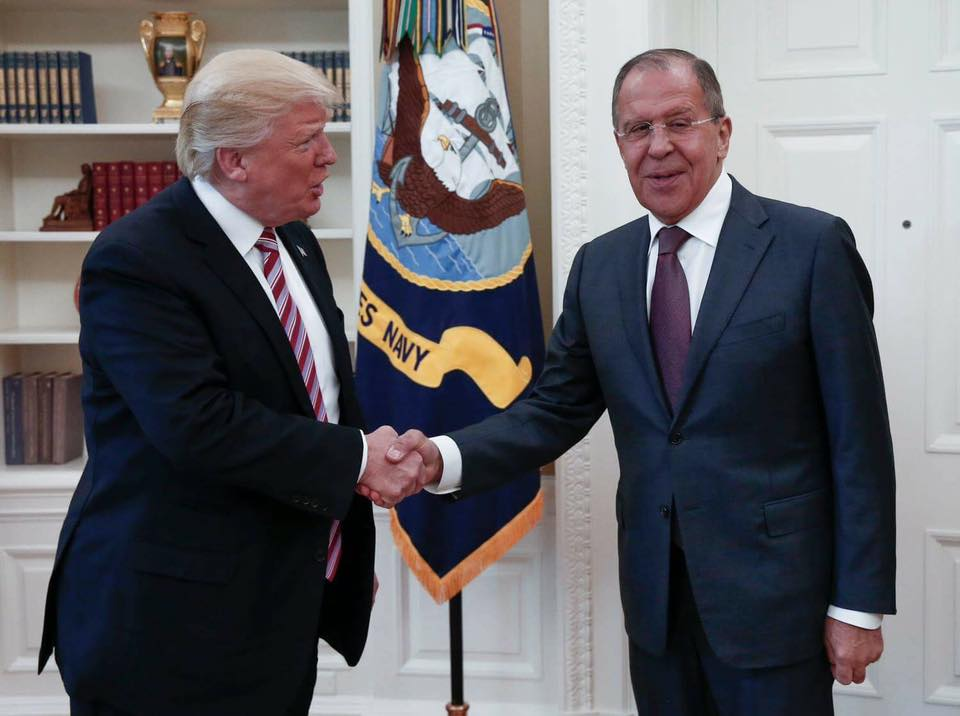 Reactions To Lavrov's Meetings With Trump And Tillerson