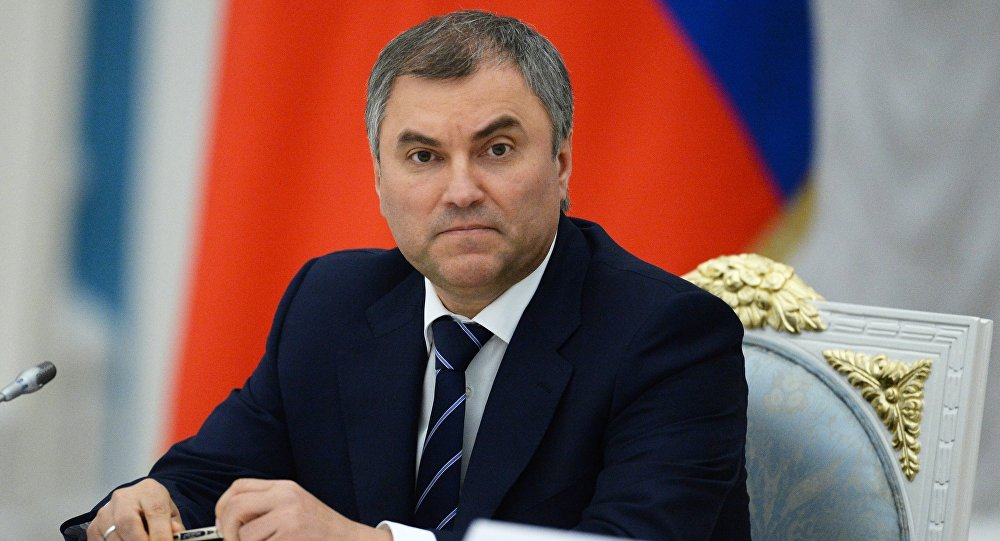 Duma Speaker Volodin: 'It Is Unacceptable To Romanticize Revolution'