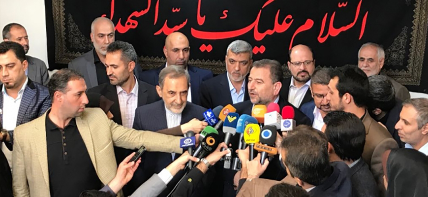 Alongside Reconciliation With Fatah, Hamas Officials Tighten Relations With Iran, Call To 'Wipe Israel Off The Map'