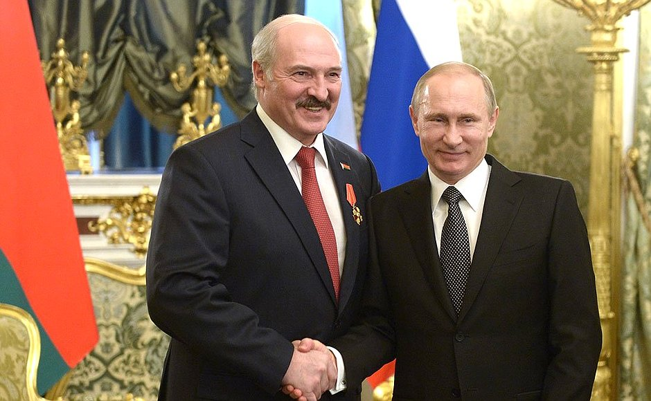 Description: Image result for lukashenko putin