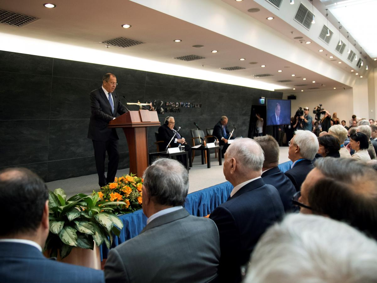 Lavrov at Primakov readings