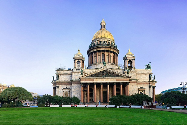 Description: St Isaac's Cathedral dispute triggers political row