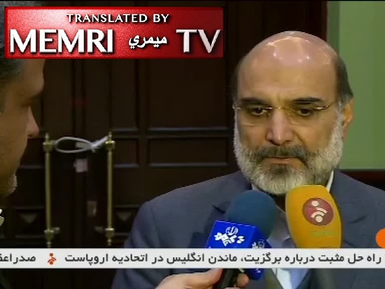 Iranian Broadcasting Chief Abdolali Ali Askari on U.S. Arrest of Press TV Anchor Marzieh Hashemi: She Was Arrested and Harassed Because of Her Islamic and Revolutionary Beliefs