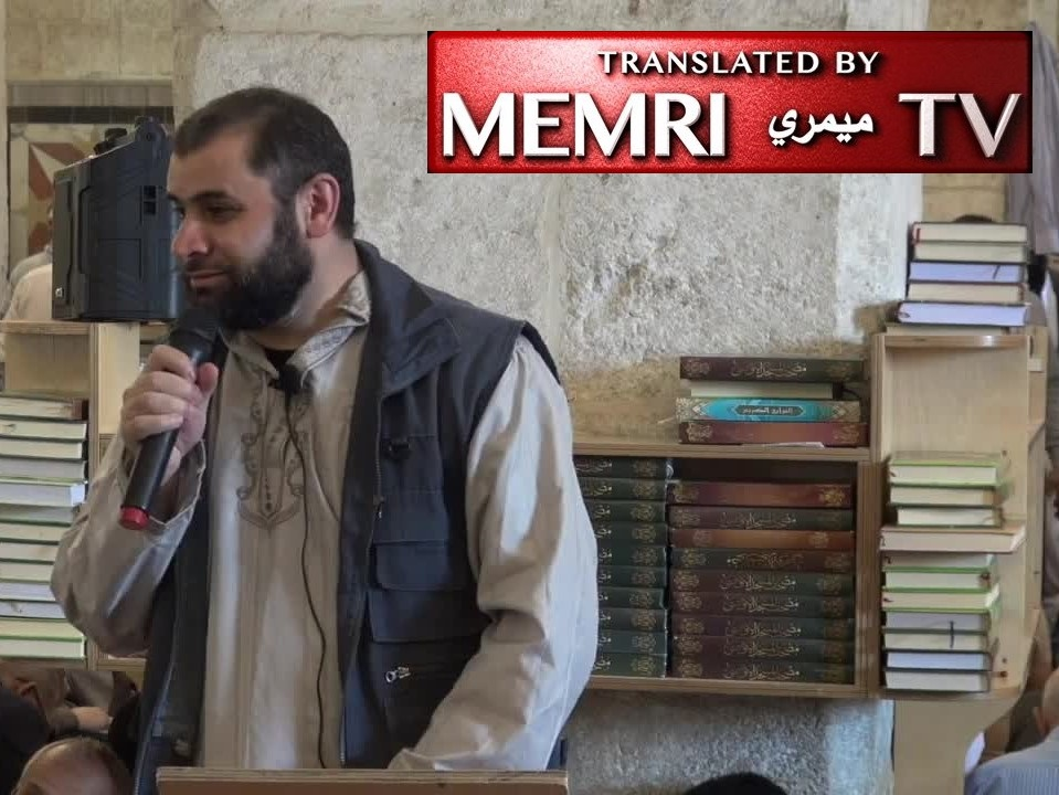Al-Aqsa Mosque Address by Abu Hanifa Awda: We Will Lay Siege to Rome, Turn White House Black, Impose Jizya Tax on London, and Pray on the Slopes of the Rockies and Andes