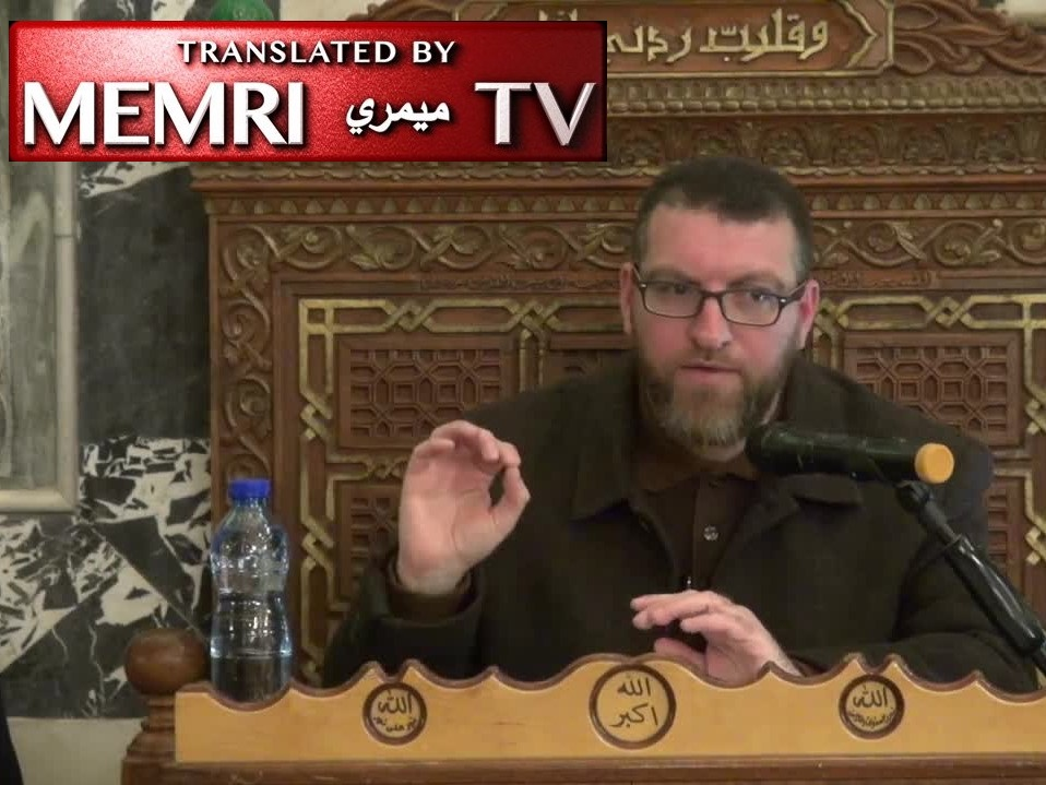 Palestinian Cleric Abu Taqi Al-Din Al-Dari at Al-Aqsa Mosque: France Will Become an Islamic Country Through Jihad; Entire World Will Be Subject to Islamic Rule