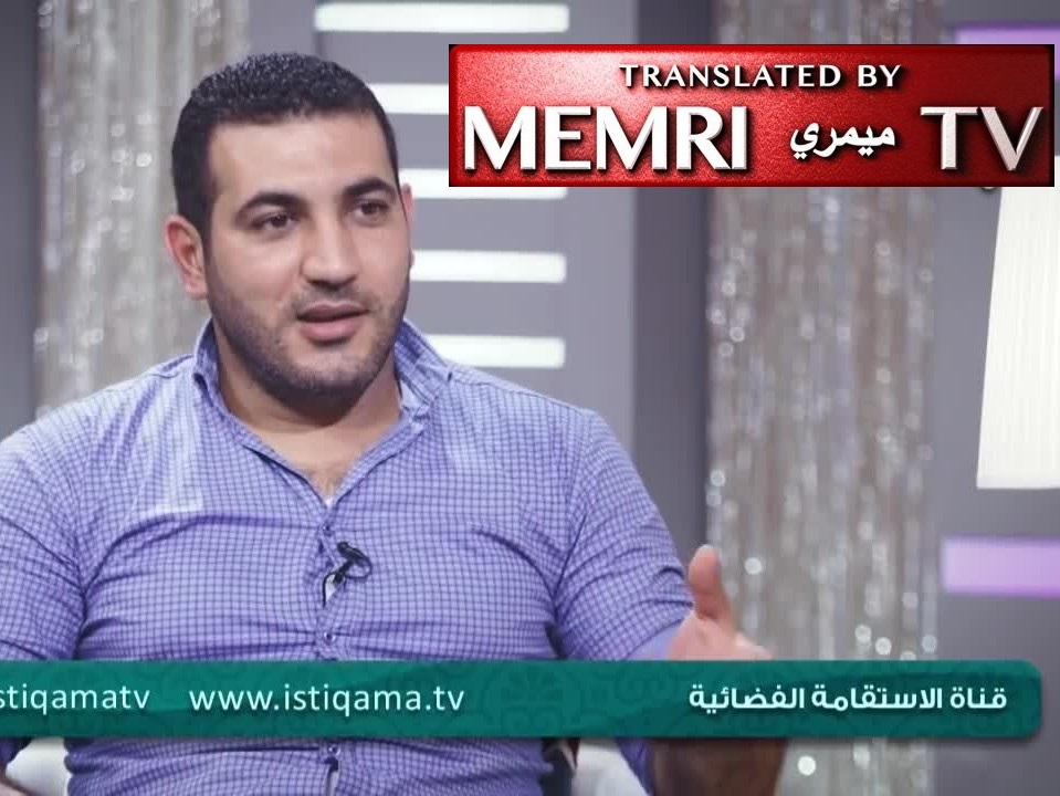 Palestinian Author Adham Sharkawi: Europeans Supported Jewish State to Get Rid of Jews, Hitler Was Influenced by the Jews' Attempt to Enslave Germany