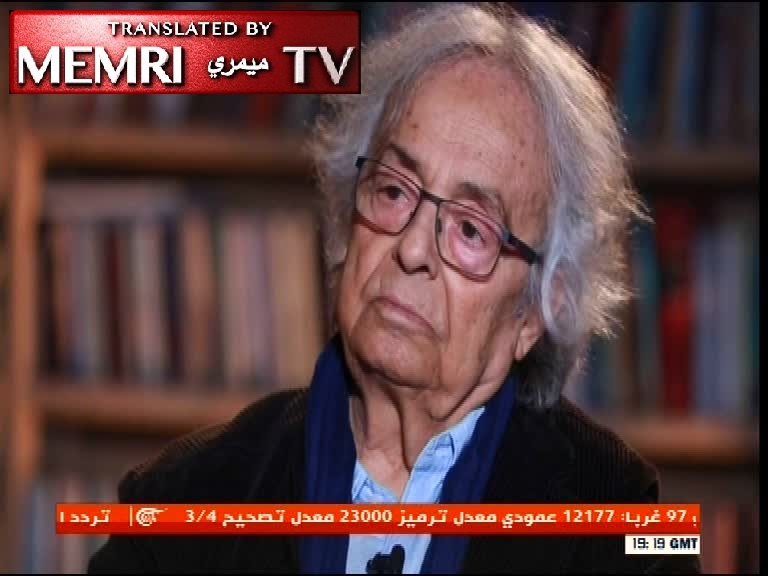 Syrian Poet Adonis: Muslims Behave in a Way That Awakens Dormant European Racism