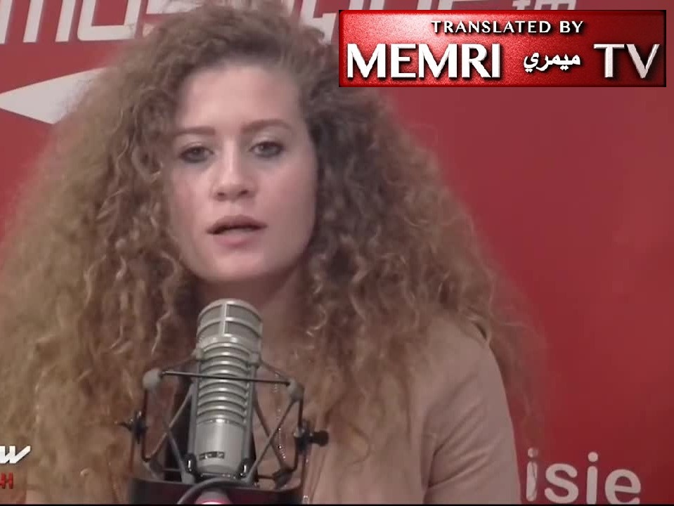 Palestinian Activist Ahed Tamimi: We Should Always Slap Israeli Soldiers Whether They Did Anything or Not