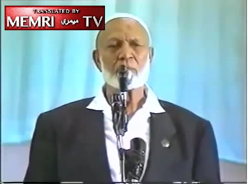 South African Muslim Scholar Ahmed Deedat: I Hate the Jews, Americans; If I Had an Atom Bomb I'd Drop It on Israel in a Minute - Archival