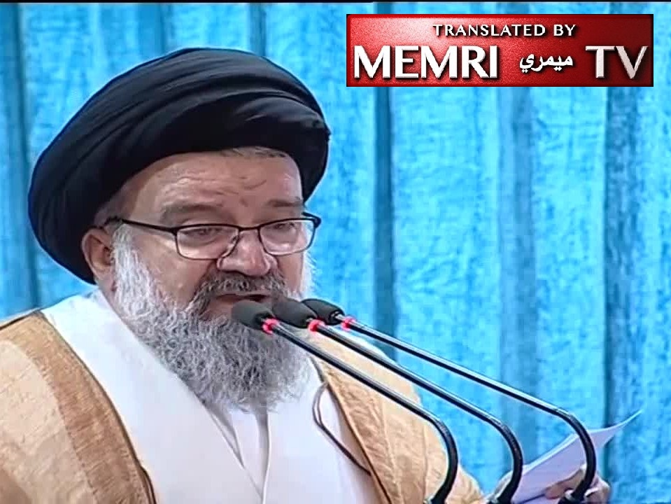 Tehran Friday Sermon - Ayatollah Ahmad Khatami Warns: We Will Turn Tel Aviv and Haifa to Rubble