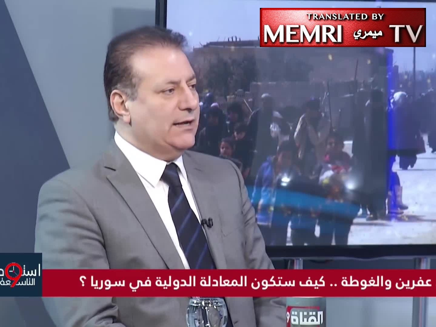 Syrian Journalist Ahmad Kamel: Nobody - Not Even Israel or the U.S. - Is as Savage as the Russians, Hizbullah, and Iran