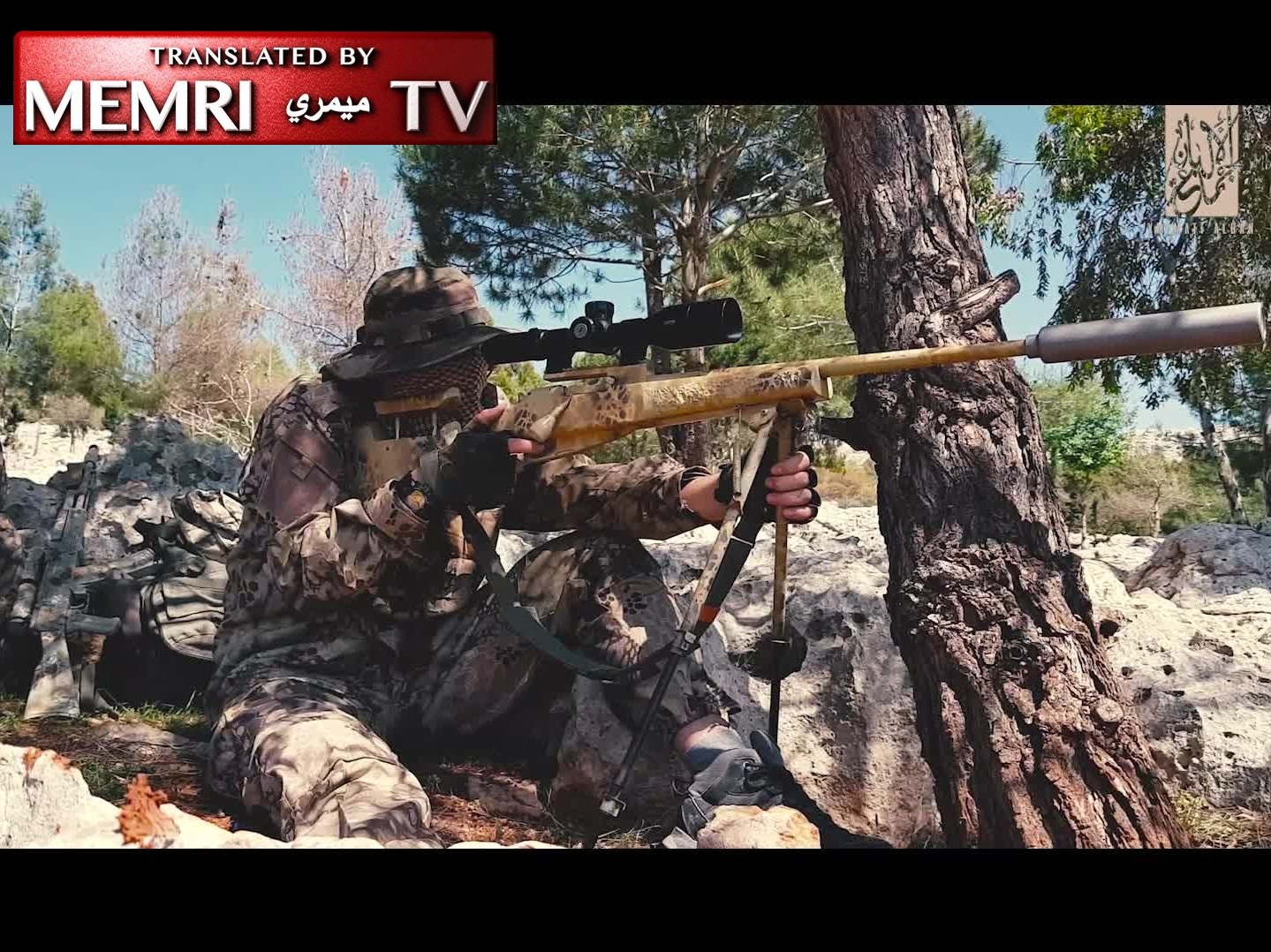 Albanian Jihadi Fighters in Syria Document the Life of Their Sniper Team