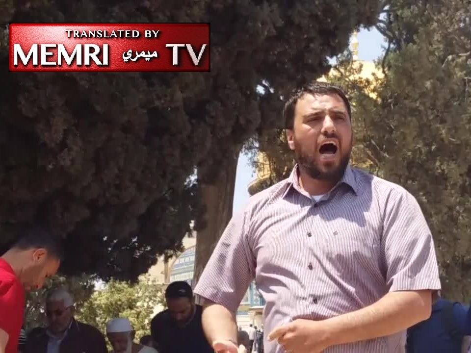 Preacher at Al-Aqsa Mosque Calls to Annihilate the Jews, Destroy the Palestinian Authority and Arab Rulers