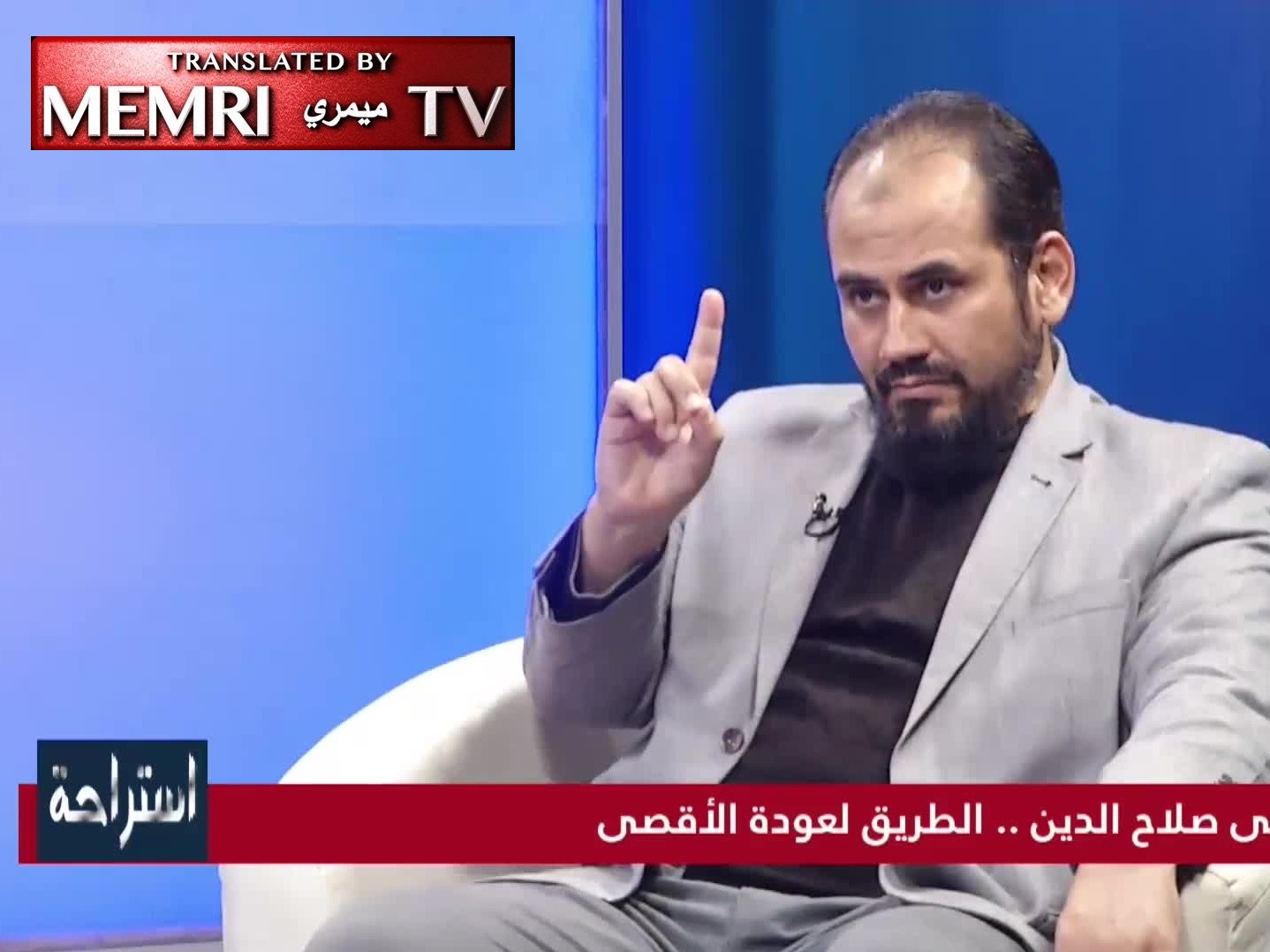 Libyan Researcher Dr. Ali Al-Siba'i Refers to Jews as