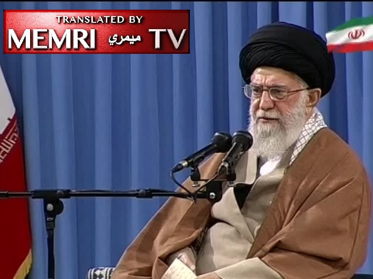 "Iranian Supreme Leader Ayatollah Ali Khamenei: Trump's ""Theatrical Games of Madness"" Will Not Go Unanswered"