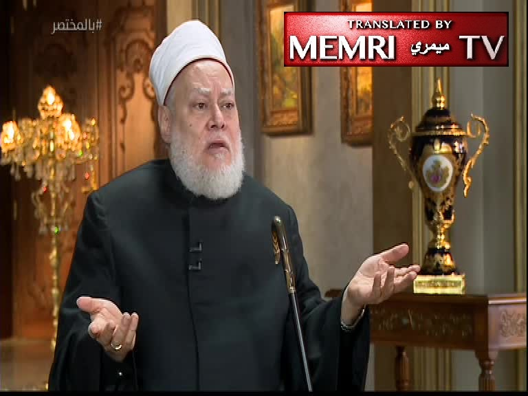 Former Egyptian Grand Mufti Ali Gomaa: Women Are Incapable of Becoming Heart Surgeons