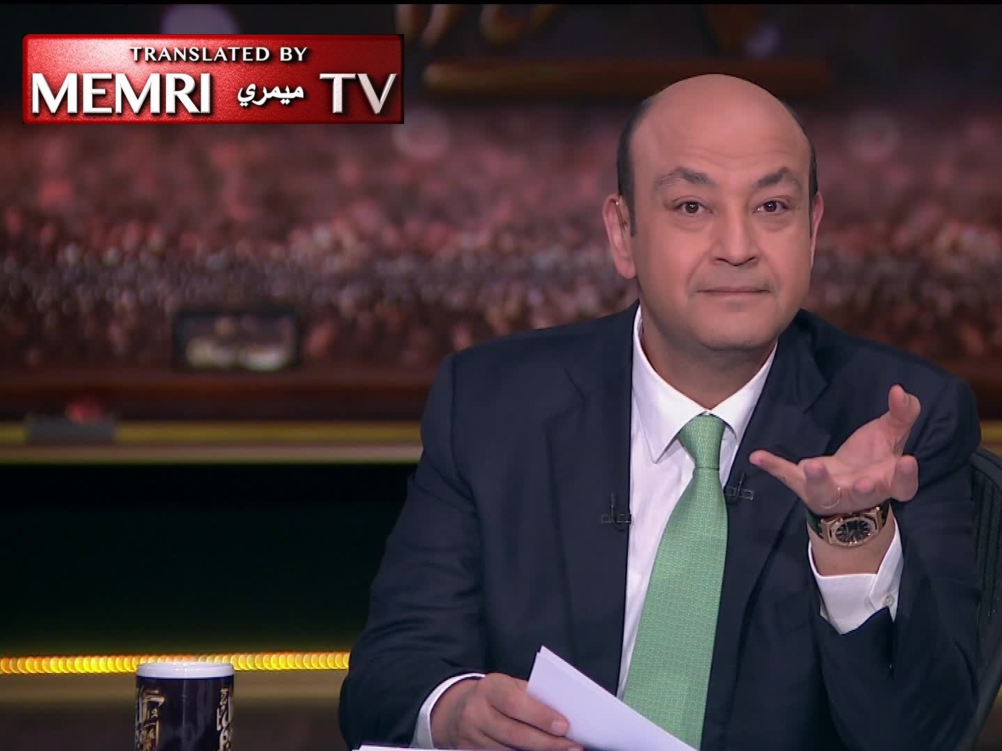 Following Douma Attack, Egyptian TV Host Amr Adeeb Says: We Have Brought Shame upon Humanity