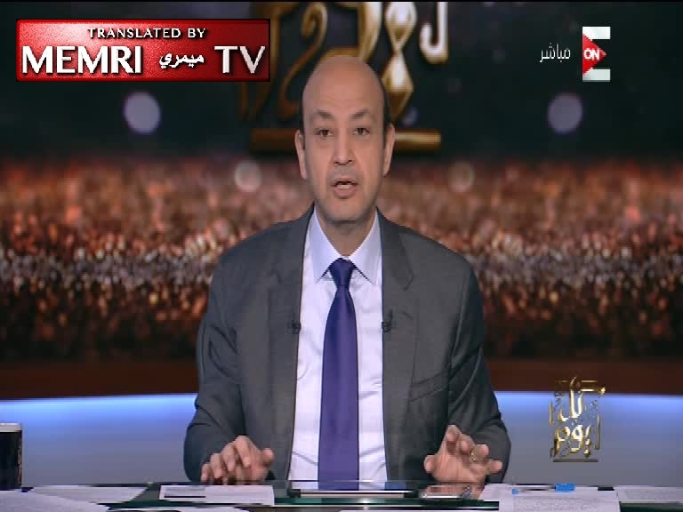 TV Host Amr Adib Slams Egyptians: Stop Multiplying!