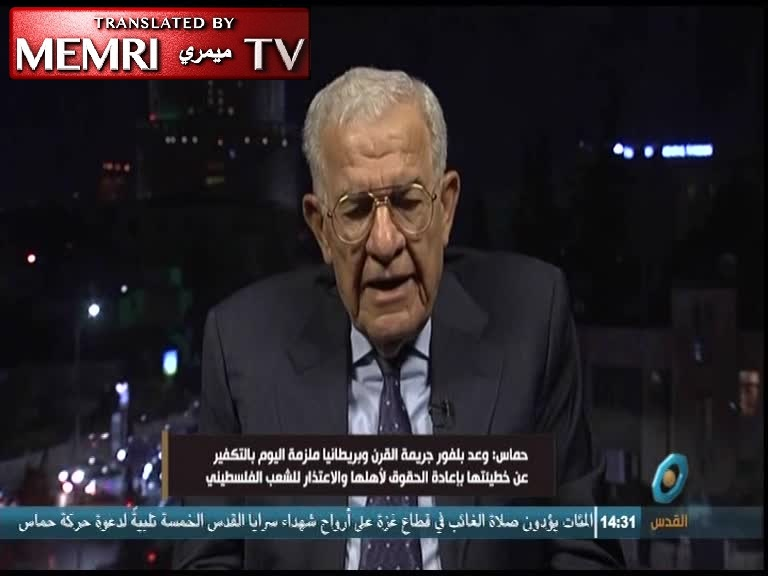 Palestinian Expert on International Law Dr. Anis Qasim: Calls for Jews to Return to Arab Countries Are Naive; They Are Better Off in Israel