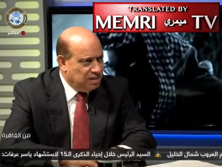 Former Egyptian Diplomat Ashraf 'Aql: Israel Assassinated Yasser Arafat; Global Zionism Works Methodically to Influence Politicians and Control World Banking; Jews Control the Media