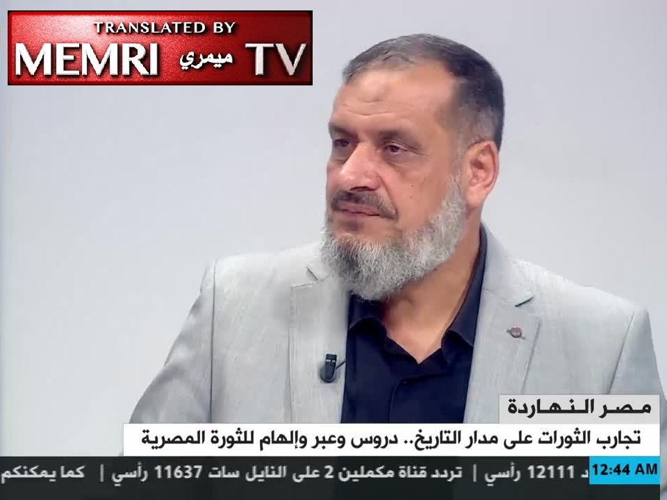 Professor of Islamic Jurisprudence 'Ateya 'Adlan: Arab Revolutions Are Part of Islamic Revival That Will Inherit Western Civilization