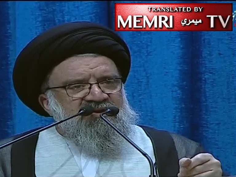 Tehran Sermon by Ayatollah Ahmad Khatami: France Lied About Keeping JCPOA despite U.S. Withdrawal; They Beat and Kill Protesters, How Dare They Talk About Human Rights