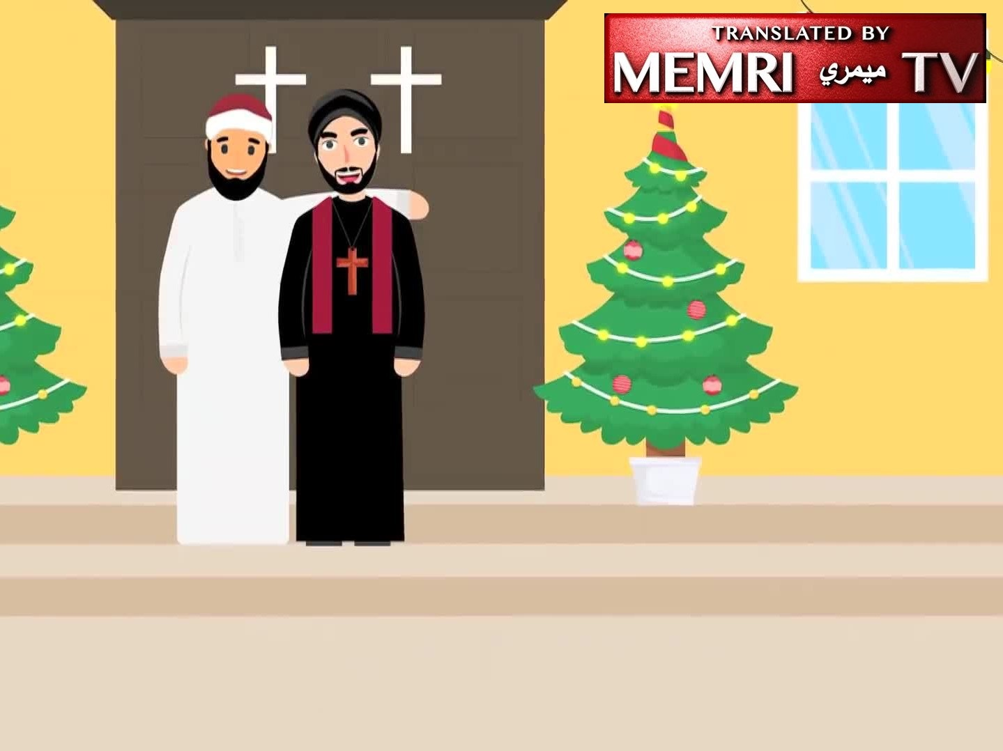 Egyptian Animated Video Encourages Muslims to Extend Christmas Greetings