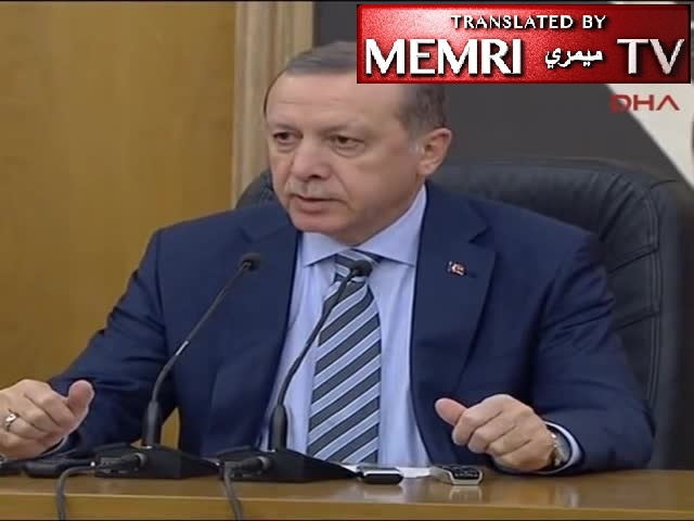 "Turkish President Erdoğan Cites Hitler's Germany As Example Of Proposed Government System: ""When You Look At Hitler's Germany, You Will See It There"" (Archival)"