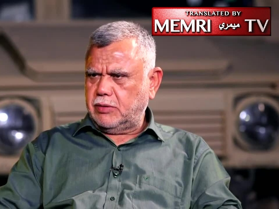 Iraqi Shiite Militia Leader Hadi Al-Ameri: A Referendum on Kurdistan Independence Might Lead to Armed Confrontation