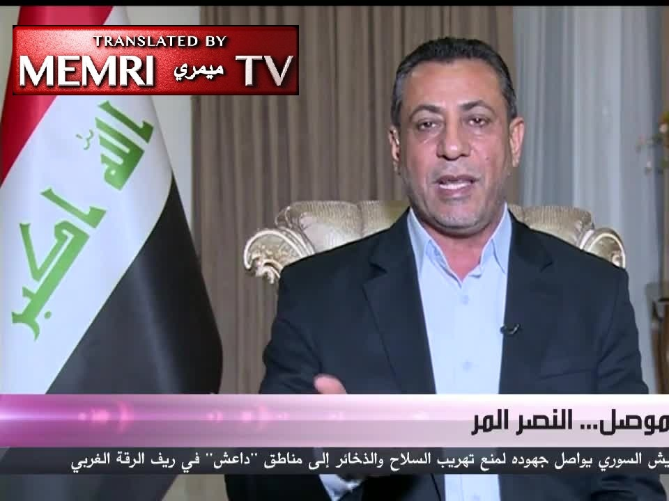 Iraqi MP Hakim Al-Zamili to the U.S.: Enough! We Won't Allow You to Create a New ISIS for Us