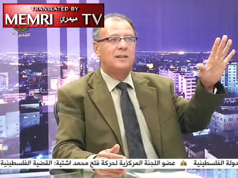 Holocaust Denial on PA TV - Palestinian Writer Hani Abu Zeid: The Jews Colluded with Hitler in the