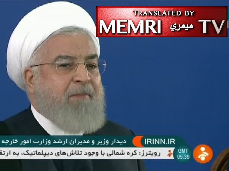 Iranian President Hassan Rouhani: War with Iran Would Be