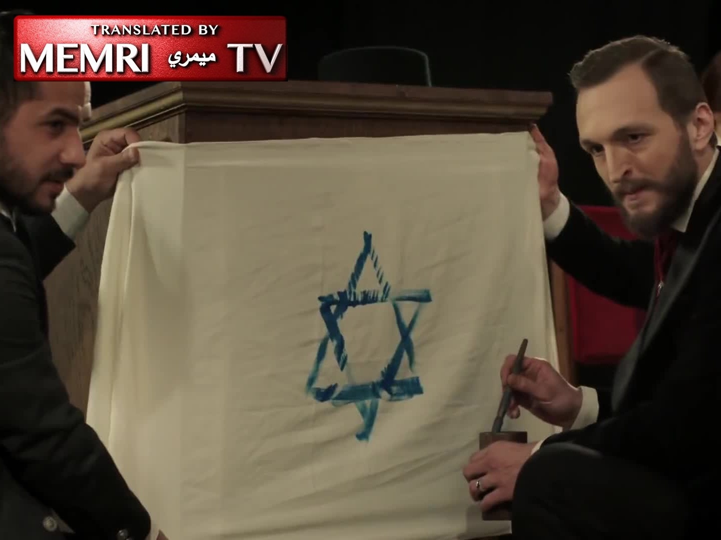 "Herzl Rises to Power, States Goal: A Jewish State from the Nile to the Euphrates (Excerpt from Turkish TV Series ""Sultan Abdülhamid"")"
