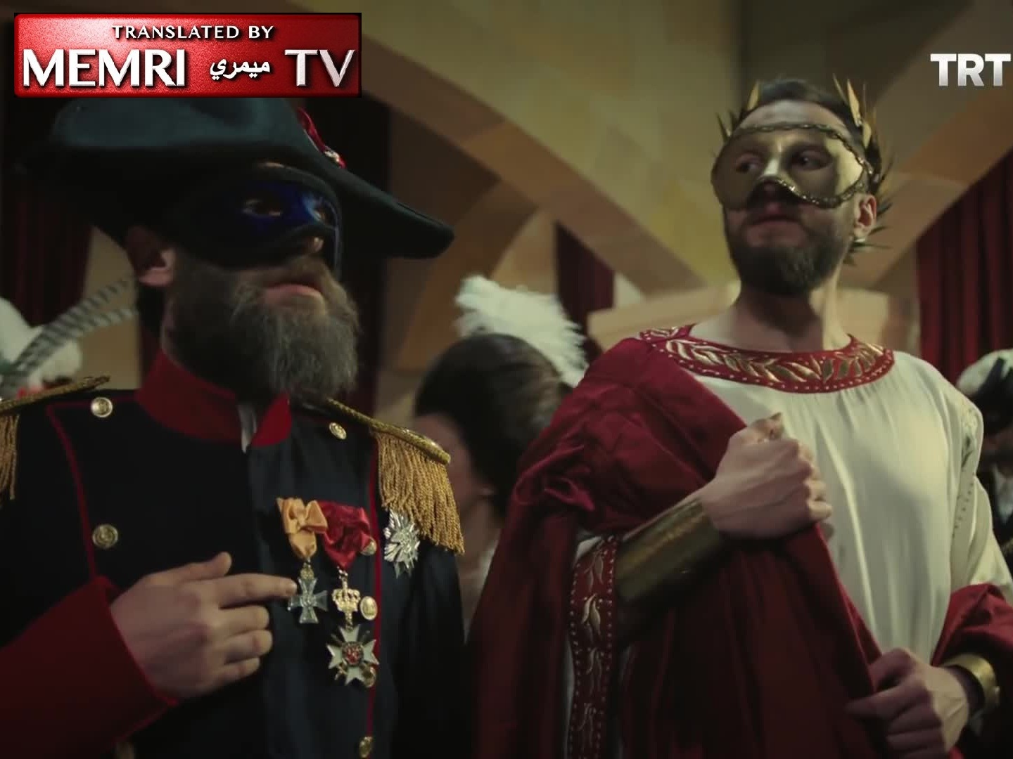 Herzl Celebrates Purim in Istanbul, Gets Mugged, and Learns a Lesson in Jewish Scheming from Co-Conspirator Emanuel Carasso in a Turkish TV Series