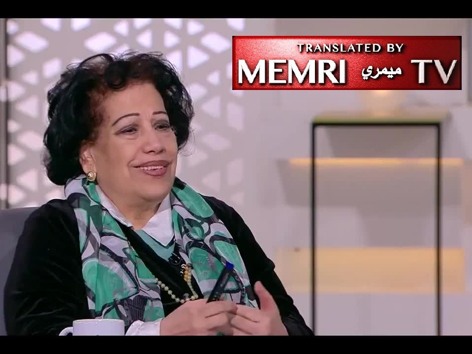 Egyptian Journalist Dr. Hoda Zakariya: The Scope of the Holocaust Is Just a Rumor