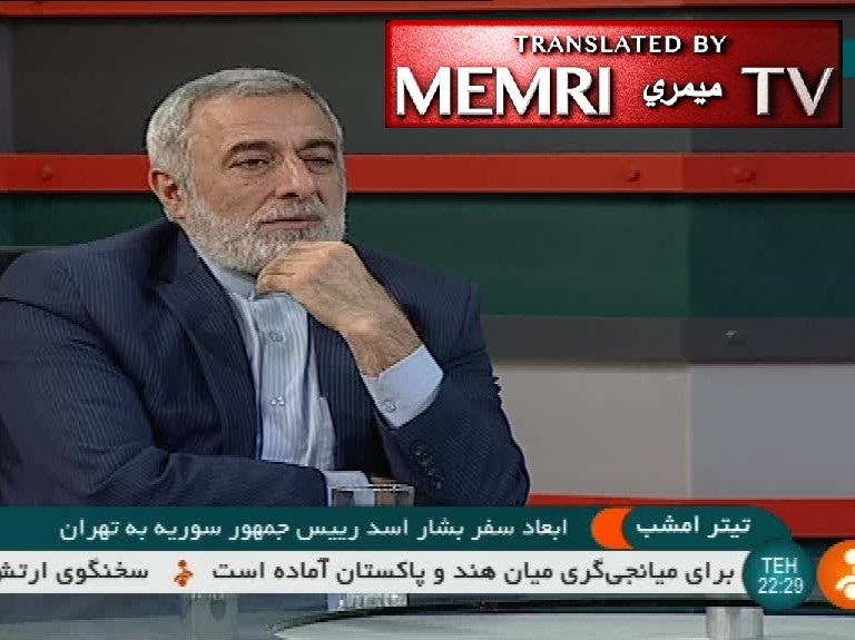 Iranian Official Hossein Sheikholeslam: Palestine, Jerusalem Will Soon Be Liberated; Iranian Companies Will Play Leading Role in Syria's Reconstruction