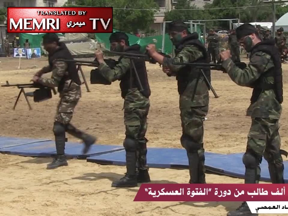 Hamas Program in Gaza High Schools Instructs Students in the Use of Weapons and Urban Warfare