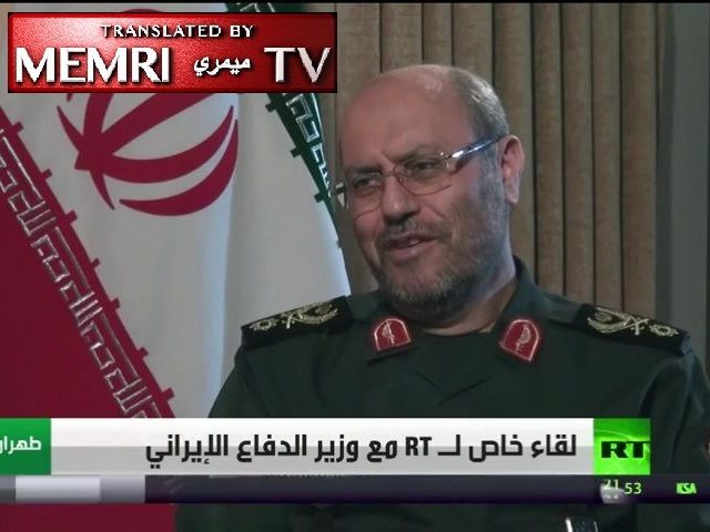 Iranian Minister of Defense Hossein Dehghan: We Do Not Coordinate with the U.S. in Syria. Turkey Must Withdraw from Syrian Soil. We do Not Recognize Netanyahu to Even Listen to What He Has to Say""