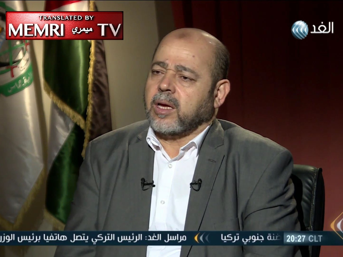 Deputy Head of Hamas Political Bureau Musa Abu Marzouq Envisions a Federal Palestinian State, Like Switzerland or the U.S.