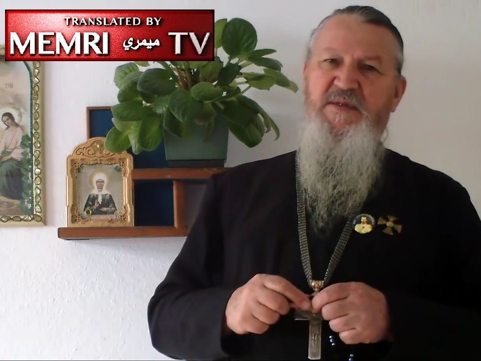 "Russian Monk: ""Kikes"" Downed the Russian Plane as a Ritual Sacrifice for Hanukkah"